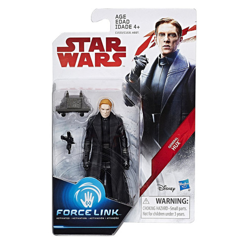 Star Wars The Last Jedi Force Link Teal Series Wave 1 General Hux Action Figure