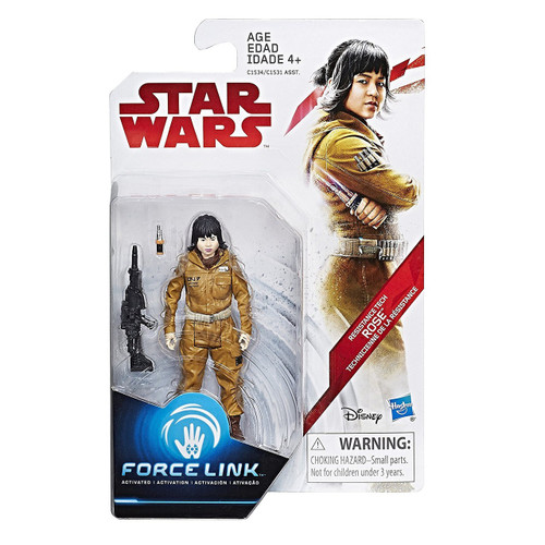 Star Wars The Last Jedi Force Link Teal Series Wave 1 Rose Action Figure [Resistance Tech]