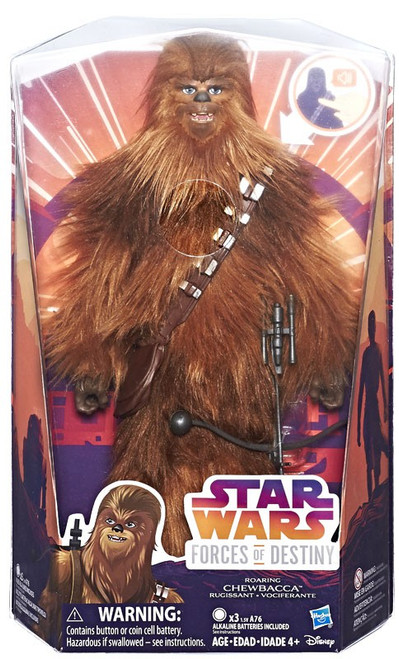 Star Wars Forces of Destiny Chewbacca Deluxe Adventure Action Figure [Roaring]