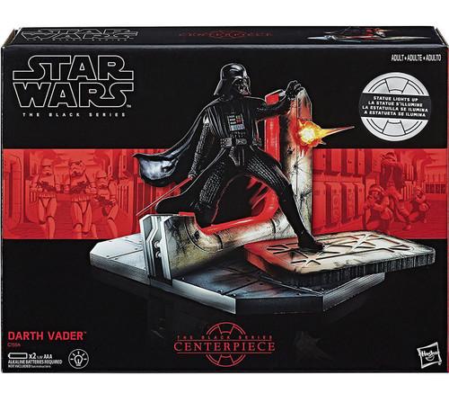 Star Wars Black Series Centerpiece Darth Vader Statue Figure [Lights Up!]