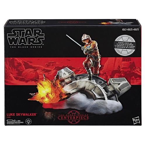 Star Wars Black Series Centerpiece Luke Skywalker Statue Figure [Lights Up!]