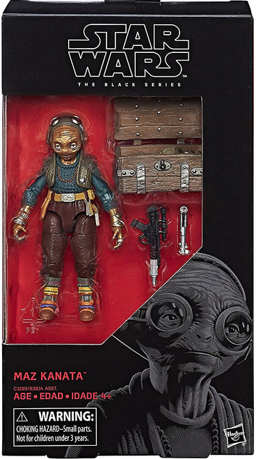 Star Wars The Last Jedi Black Series Wave 24 Maz Kanata Action Figure