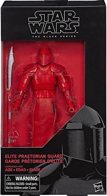 Star Wars The Last Jedi Black Series Wave 24 Elite Praetorian Guard Action Figure