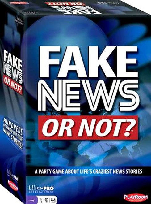Fake News Or Not? Card Game