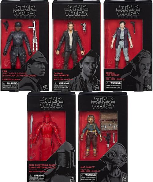 Star Wars Black Series Wave 24 Set of 5 Action Figures