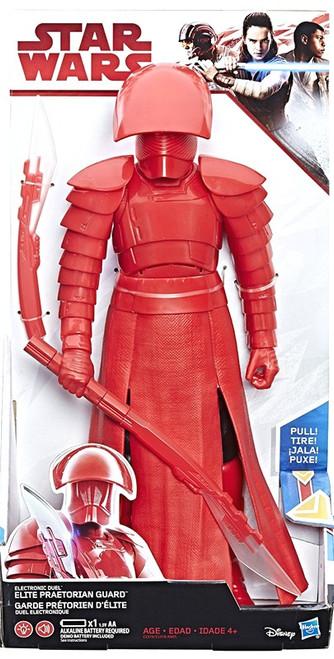 Star Wars The Last Jedi Hero Series Elite Praetorian Guard Electronic Action Figure
