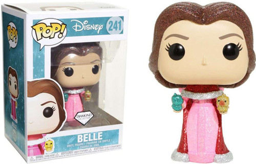 Funko Beauty and the Beast POP! Disney Belle Exclusive Vinyl Figure #241 [Holding Birds, Diamond Collection]
