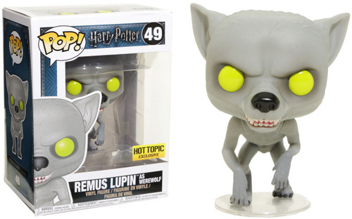 Funko Harry Potter POP! Movies Remus Lupin as Werewolf Exclusive Vinyl Figure #49