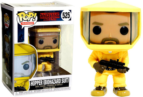 Funko Stranger Things POP! TV Hopper Exclusive Vinyl Figure #525 [Biohazard Suit]