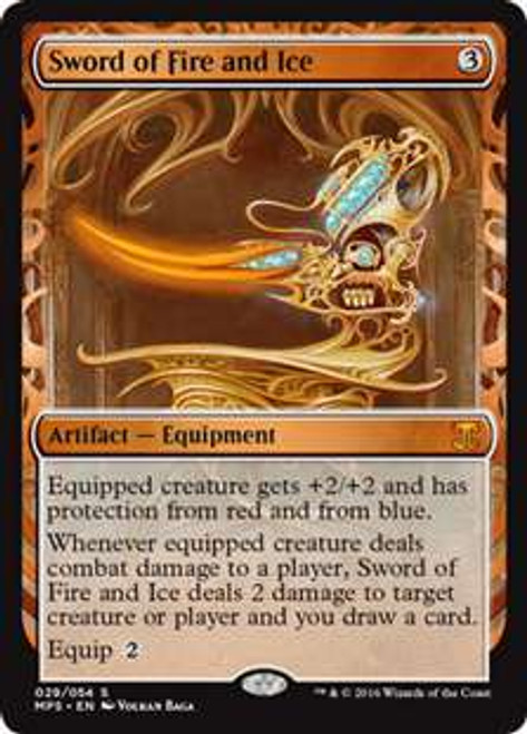 MtG Masterpiece Sword of Fire and Ice #29 [Kaladesh Invention]