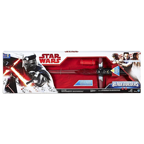 Star Wars The Last Jedi Bladebuilders Kylo Ren Deluxe Electronic Lightsaber Roleplay Toy