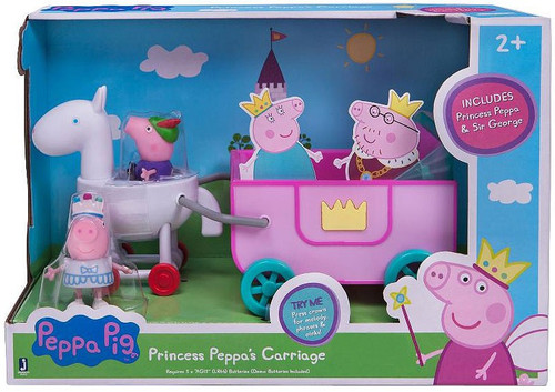 Peppa Pig Princess Peppa's Carriage Exclusive Playset