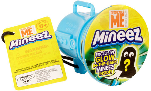 Minions Mineez Series 1 Despicable Me 3 Glow-in-the-Dark Mystery Pack