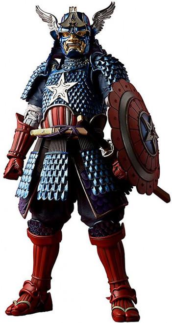 Marvel Meisho Manga Realization Samurai Captain America Action Figure