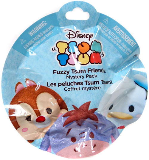 Disney Tsum Tsum Fuzzy Tsum Friends Exclusive Mystery Pack