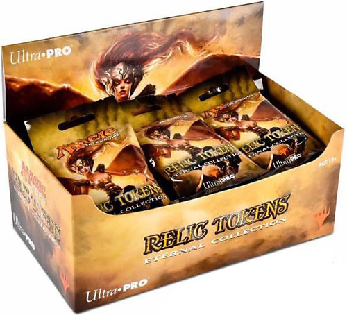 Ultra Pro MtG Trading Card Game Relic Tokens Eternal Collection Mystery Box [24 Packs]