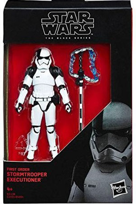 "Star Wars The Last Jedi Black Series First Order Stormtrooper Executioner Action Figure [3.75""]"