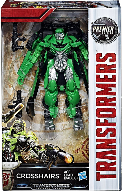 Transformers The Last Knight Premier Deluxe Crosshairs Action Figure
