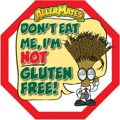 AllerMates Wheat Gluten Alert Labels