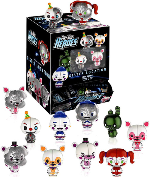 Funko Five Nights at Freddy's Pint Size Heroes Sister Location Mystery Box [24 Packs]