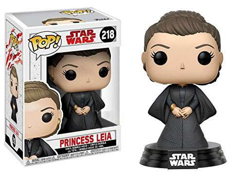 Funko The Last Jedi POP! Star Wars Princess Leia Exclusive Vinyl Bobble Head #218 [The last Jedi]