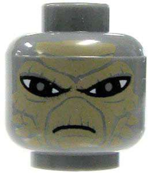 Star Wars Gray Alien with Sand Brown Scales Minifigure Head [Loose]