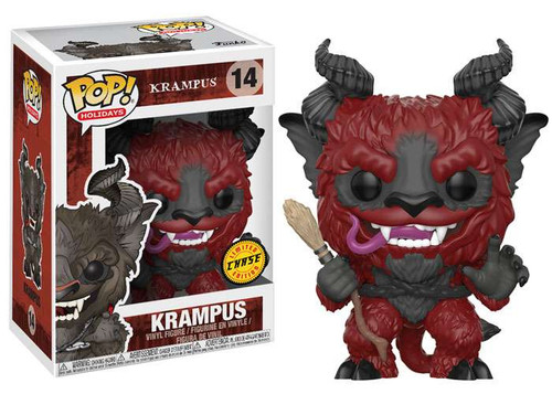 Funko POP! Holidays Krampus Vinyl Figure #14 [Red, Chase Version]