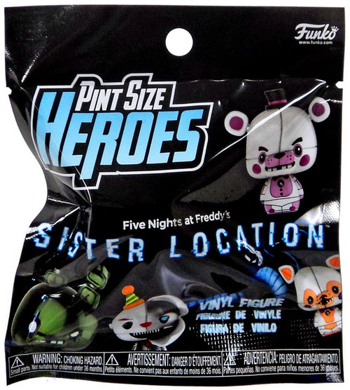 Funko Five Nights at Freddy's Pint Size Heroes Sister Location Mystery Pack