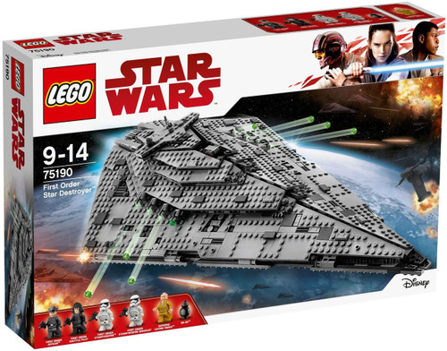 LEGO Star Wars First Order Star Destroyer Set #75190