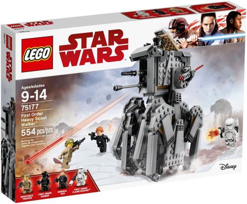LEGO Star Wars First Order Heavy Scout Walker Set #75177