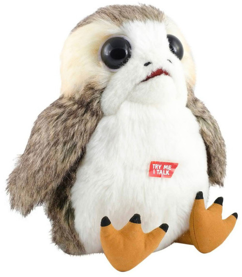 Star Wars The Last Jedi Porg Exclusive 10-Inch Plush with Sound [Talking]