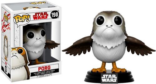 Funko The Last Jedi POP! Star Wars Porg Exclusive Vinyl Bobble Head #198 [Open Wings]