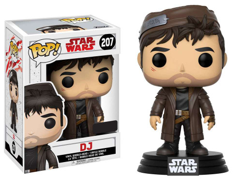 Funko The Last Jedi POP! Star Wars DJ Exclusive Vinyl Bobble Head #207