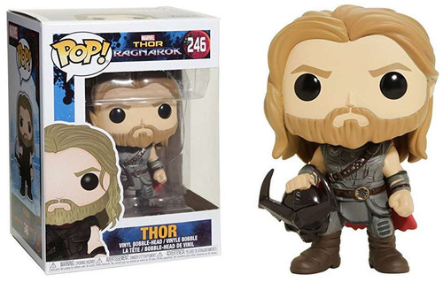 Funko Thor: Ragnarok POP! Marvel Thor Exclusive Vinyl Bobble Head #246 [with Helmet]