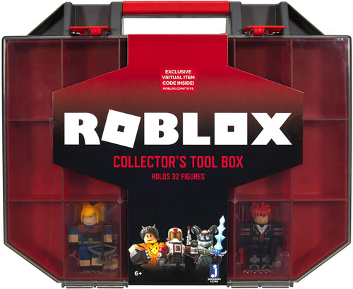 Roblox Tool Box 3-Inch Carry Case Playset [Holds up to 32 Roblox Figures!]