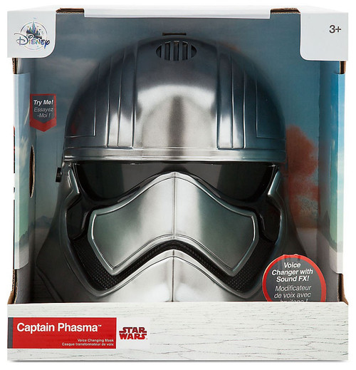 Disney Star Wars Captain Phasma Exclusive Voice Changer Helmet