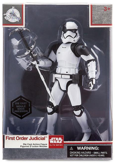 Disney Star Wars The Last Jedi Elite Series First Order Judicial Stormtrooper Exclusive 6-Inch Diecast Figure