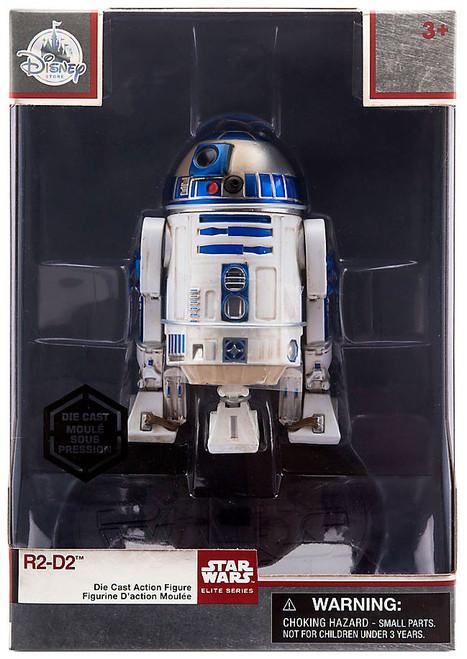 Disney Star Wars The Last Jedi Elite Series R2-D2 Exclusive 4-Inch Diecast Figure