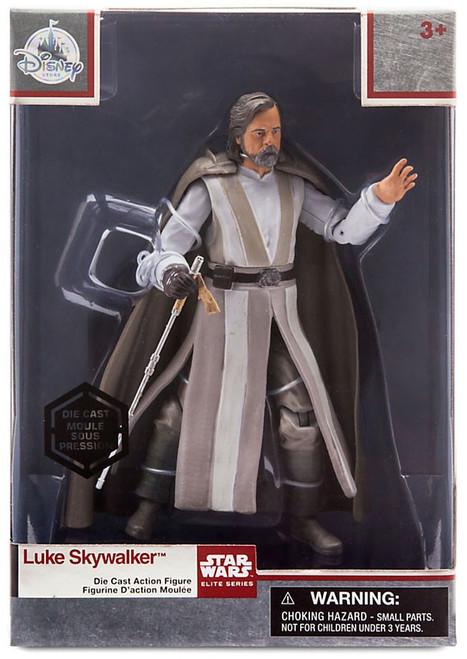 DIsney Star Wars The Last Jedi Elite Series Luke Skywalker Exclusive 6-Inch Diecast Figure
