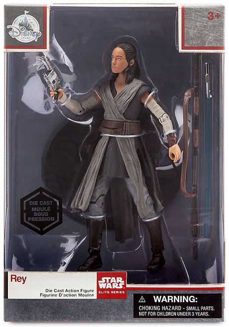 Disney Star Wars The Last Jedi Elite Series Rey Exclusive 6-Inch Diecast Figure