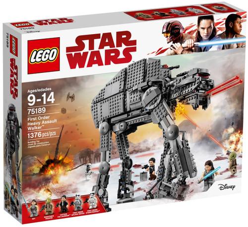 LEGO Star Wars First Order Heavy Assault Walker Set #75189