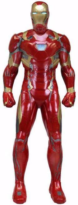 NECA Marvel Captain America: Civil War Iron Man 78-Inch Life-Size Foam Replica