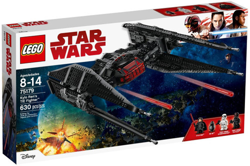 LEGO Star Wars Kylo Ren's TIE Fighter Set #75179