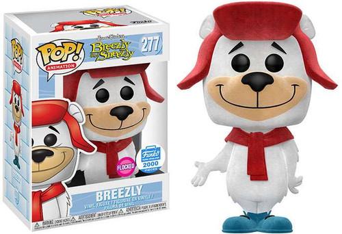 Funko Breezly & Sneezly POP! Animation Breezly Exclusive Vinyl Figure #277 [Flocked Version]