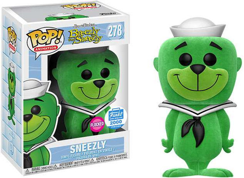 Funko Breezly & Sneezly POP! Animation Sneezly Exclusive Vinyl Figure #278 [Flocked Version]