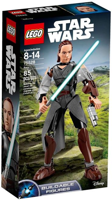 LEGO Star Wars Buildable Figures Rey Set #75528