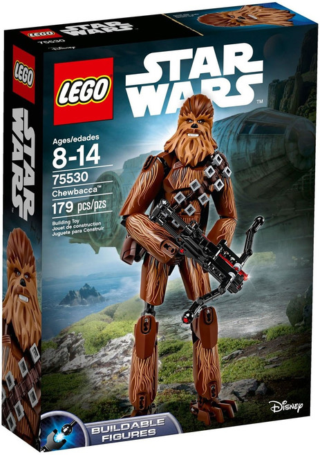 LEGO Star Wars Buildable Figures Chewbacca Set #75530