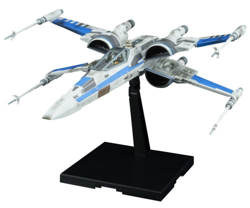 Star Wars The Last Jedi Blue Squadron Resistance X-Wing Model Kit