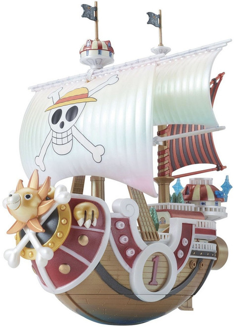 One Piece Grand Ship Collection Thousand Sunny Collectible Figure [Memorial Color]