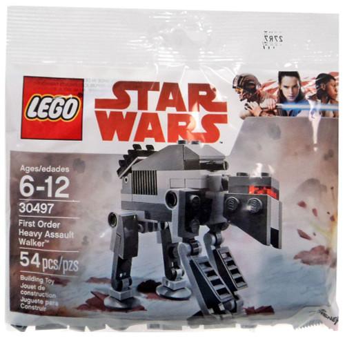 LEGO Star Wars First Order Heavy Assault Walker Set #30497